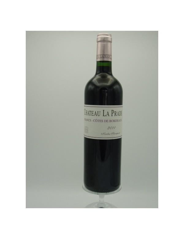 Ch. La Prade - Côtes de Francs - 2011